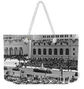 Miniature La City Hall Parade Weekender Tote Bag