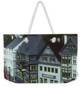 Miniature Village Weekender Tote Bag