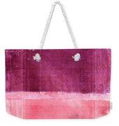 Minima - S02b Pink Weekender Tote Bag