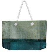 Minima - S02b Turquoise Weekender Tote Bag