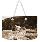 Mining House In Black And White Weekender Tote Bag