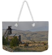 Mining In Butte Weekender Tote Bag