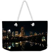 Minneapolis Night Skyline Weekender Tote Bag