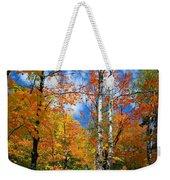 Minnesota Autumn Foliage Weekender Tote Bag