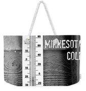 Minnesota Cold Weekender Tote Bag