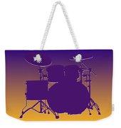 Minnesota Vikings Drum Set Weekender Tote Bag