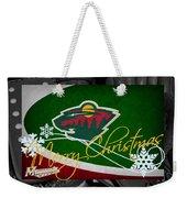 Minnesota Wild Christmas Weekender Tote Bag