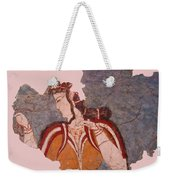 Minoan Wall Painting Weekender Tote Bag