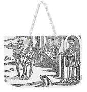 Minstrels, 17th Century Weekender Tote Bag