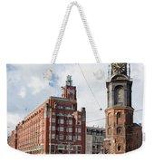 Mint Tower In Amsterdam Weekender Tote Bag