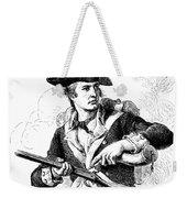 Minutemen Soldier Weekender Tote Bag