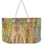 Miracle Of A Virgin  Weekender Tote Bag by Karina Llergo