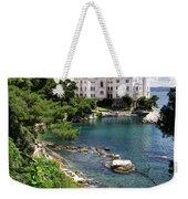 Miramare Castle Beach Weekender Tote Bag