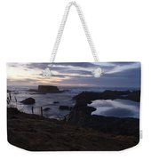 Mirror At Glass Beach Weekender Tote Bag