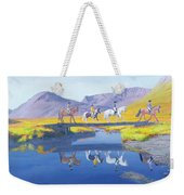 Mirror In The Cairngorms Weekender Tote Bag