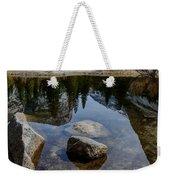 Mirror Lake Threesome 2 Yosemite Weekender Tote Bag