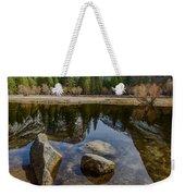 Mirror Lake Threesome Yosemite Weekender Tote Bag
