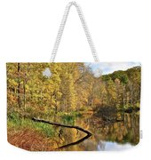 Mirror Mirror On The Floor Weekender Tote Bag