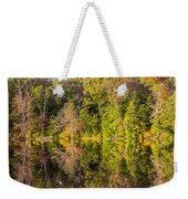 Mirror Reflections Of Fall Weekender Tote Bag