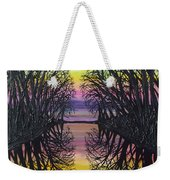 Mirror Water Weekender Tote Bag