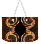 Mirrored Abstract Weekender Tote Bag