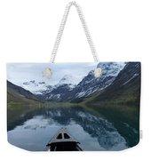 Mirrored Voyage Weekender Tote Bag