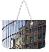Mirroring On Vitreous Front Weekender Tote Bag