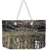 Mirroring Waters Weekender Tote Bag