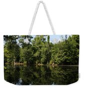 Mirrow Lake - Magnolia Gardens Weekender Tote Bag