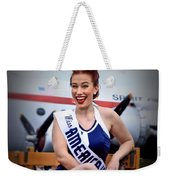 Miss America Weekender Tote Bag