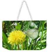 Miss Busy Butterfly Weekender Tote Bag