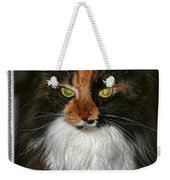 Miss Gizzie Waits By Diana Sainz Weekender Tote Bag