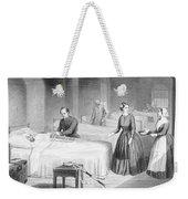 Miss Nightingale In The Hospital Weekender Tote Bag