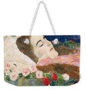 Miss Ria Munk On Her Deathbed Weekender Tote Bag