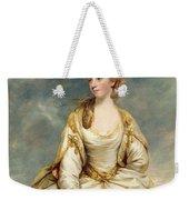 Miss Sarah Campbell Weekender Tote Bag by Sir Joshua Reynolds