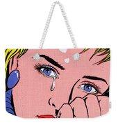 Miss You Weekender Tote Bag by MGL Meiklejohn Graphics Licensing