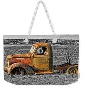Missing Front Wheels Weekender Tote Bag