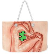 Missing Piece 4 Weekender Tote Bag by Patrick J Murphy