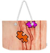 Missing Piece 5 Weekender Tote Bag