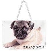 Missing You... Weekender Tote Bag by Edward Fielding