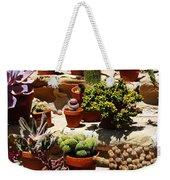 Mission Cactus Garden Weekender Tote Bag
