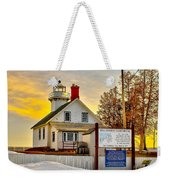 Mission Point Michigan Weekender Tote Bag