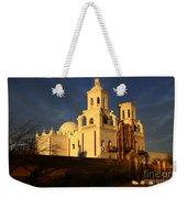 Mission San Xavier Del Bac Last Light Weekender Tote Bag
