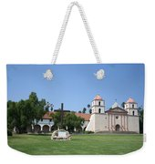 Mission Santa Barbara Weekender Tote Bag