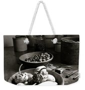 Mission Still In Black And White Weekender Tote Bag