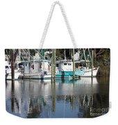Mississippi Boats Weekender Tote Bag