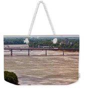 Mississippi River At I-72 Weekender Tote Bag