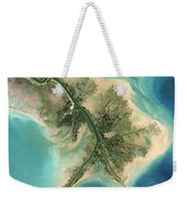 Mississippi River Delta, 2001 Weekender Tote Bag
