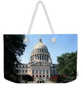Mississippi State Capitol Downtown Jackson Weekender Tote Bag
