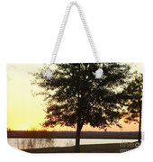 Mississippi Sunset 12 Weekender Tote Bag